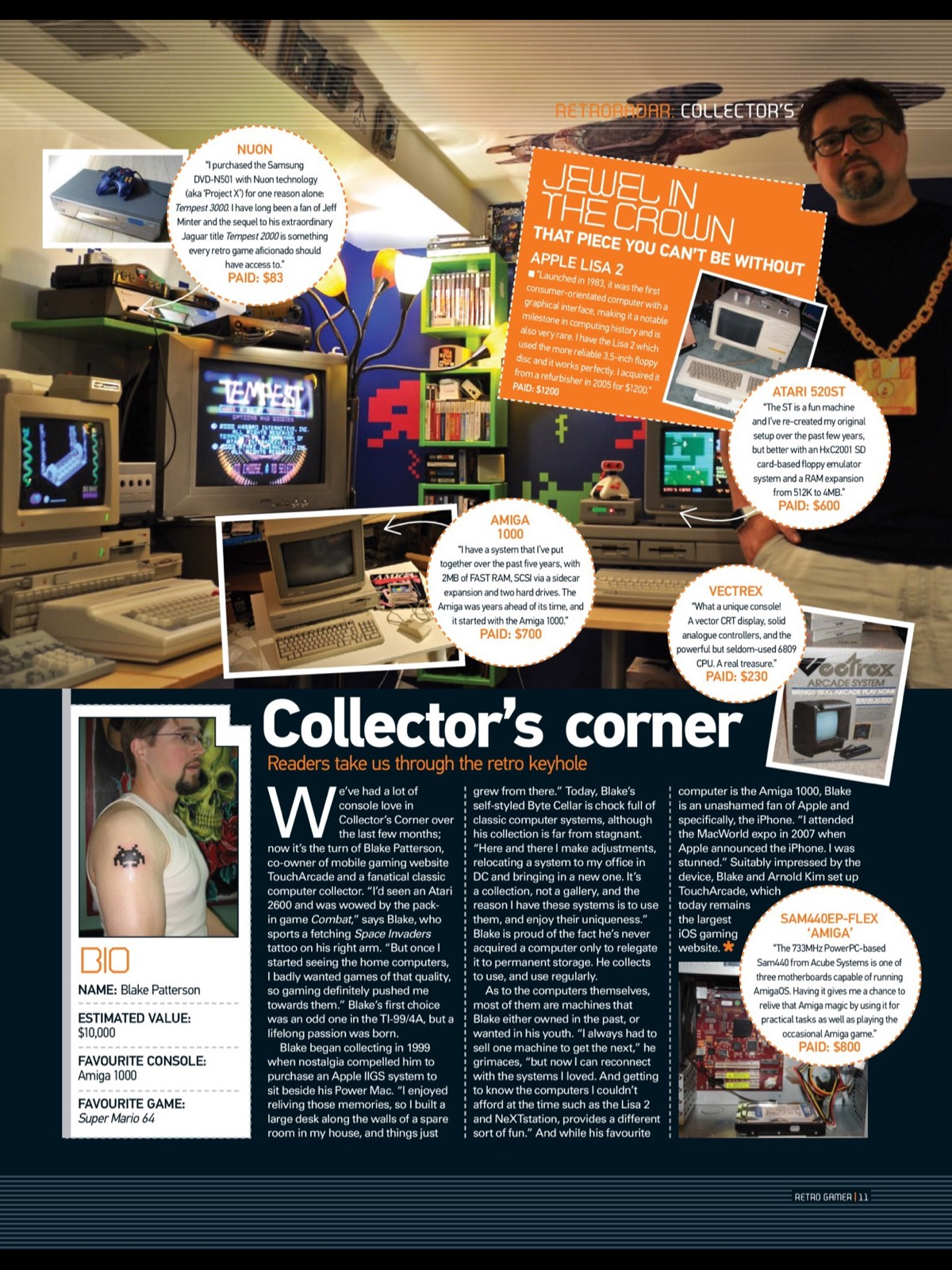 """On Being Featured in Retro Gamer's """"Collector's Corner"""" 