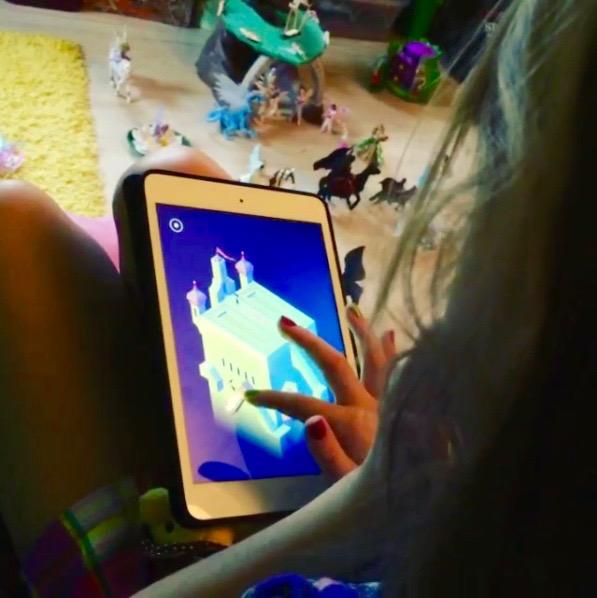 Rory Monument Valley iPad