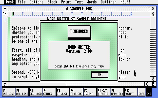 WordWriter ST