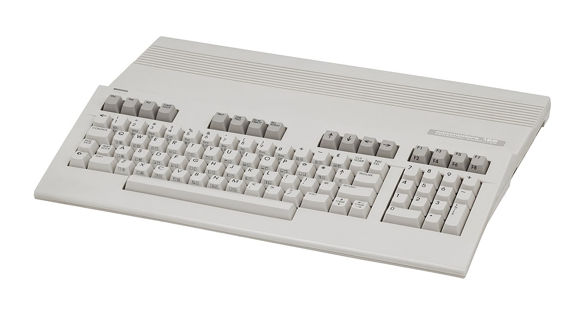 Commodore 128 home computer