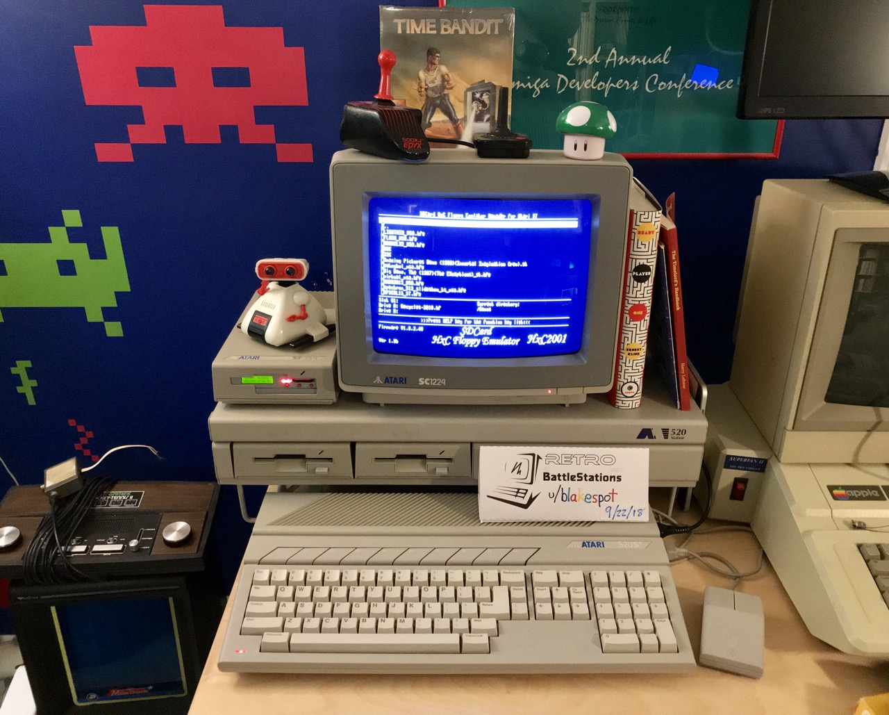 Atari 520ST system photo