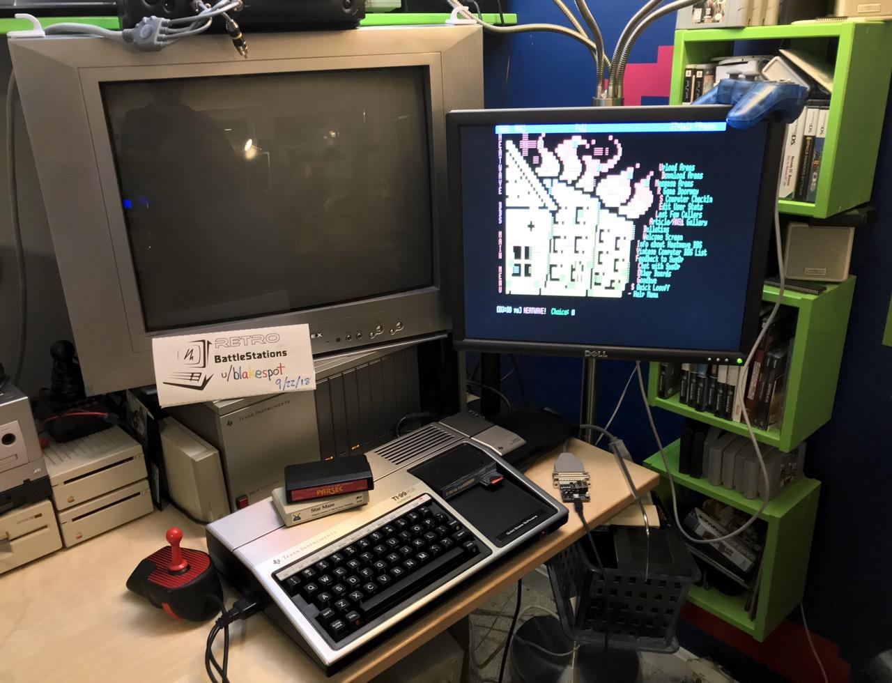 TI-99 system photo
